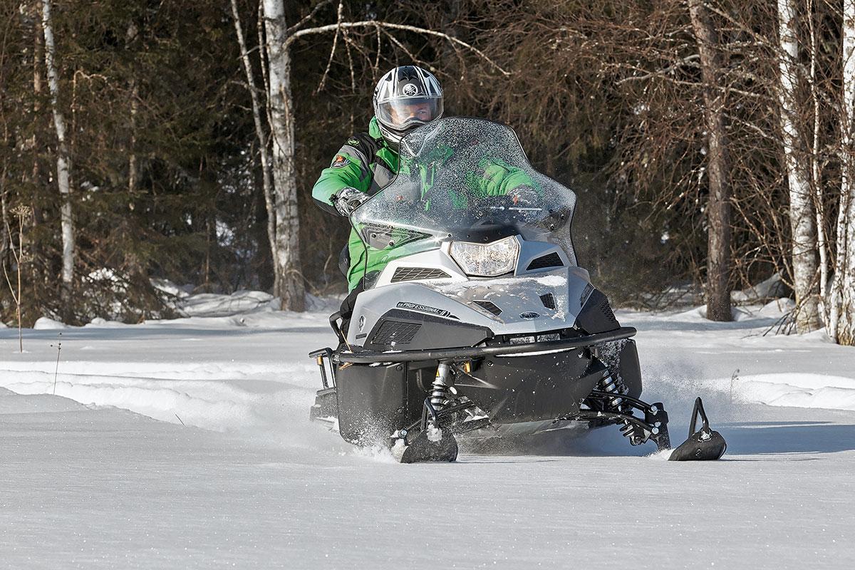 Снегоход Yamaha VK Professional II EPS